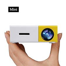 Pico Projector ARTLII LED Mini Projector connect to iPhone
