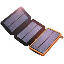 Phone Charger mAh Solar Phone Charger Power Bank Dual USB for