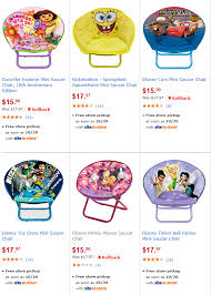 Cheap Saucer Chairs For Adults by Saucer Chairs Walmartcom Is Currently Offering Up These Highly