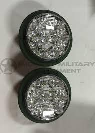 100 Truck Lite 2 LED Headlights Military 24V Midwest