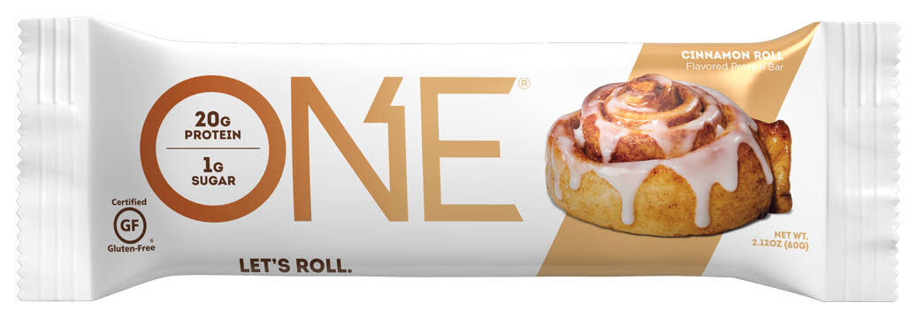 One Protein Bar, Flavored, Cinnamon Roll - 2.12 oz