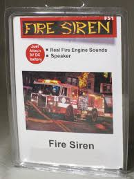 100 Model Fire Trucks SIREN For
