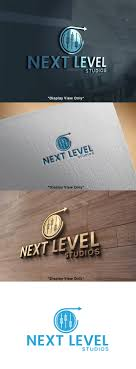 100 Next Level Studios Professional Modern Recording Studio Logo Design For NEXT