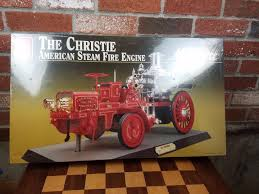 100 Model Fire Truck Kits Ertl 1911 THE CHRISTIE American Steam Engine AMT 1