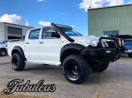 100 Truck Snorkel Toyota Hilux N70 Stainless Fabulous Fabrications