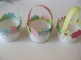 Easter Egg Basket Craft Crafts