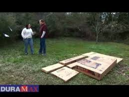 Duramax Storage Shed Accessories by Duramax Storage Shed Assembly Youtube