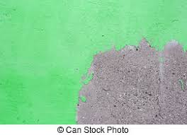 Stucco Green Wall Background Or Texture