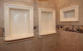 recessed shower shelf ideas laluz nyc home design