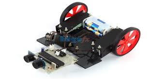 Floor Cleaning Robot Project Report by Obstacle Avoidance Robotic Vehicle Using Ultrasonic Sensor For