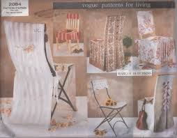 Vogue 2084 Retro 2001 Sewing Pattern DIY Garden Party Wedding Or Dining  Room Chair Covers, Folding Chairs, Dining Room One Size Stylish Chair Covers Home Decor Tlc Trading Spaces Discontinued Sewing Pattern Mccalls 0878 Ding Room Wedding Deocrating Uncut Linens Table White Chairs For Target West John Universal Floral Cover Spandex Elastic Fabric For Home Dinner Party Decoration Supplies Aaa Quality Prting Flower Design Stretch Banquet Hotel Computer And 6 Color Diy Faux Fur Cushions A Beautiful Mess Details About 11 Patterns Removable Slipcover Washable With Printed Patternsoft Super Fit Slipcovers Hotelceremonybanquet Vogue 2084 Retro 2001 Sewing Pattern Garden Or Folding One Size Set Of India Rental Where To Polyester Seat Protector 2 Multicolor 20 Creative Ideas With Satin Sash
