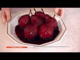 recette cuisine lyonnaise recette poires au vin de martine les carnets de julie la