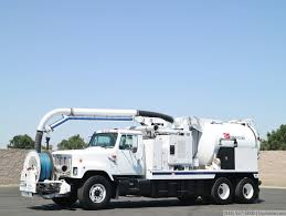 100 Sewer Truck 1998 International VacCon 9 Yard 1000 Gallon Combo