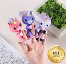 Monkey Fingerlings Interactive Child Baby Pet Unicorn Gift Toy For Kids