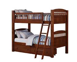 Norddal Bunk Bed by Dorel Bunk Bed Walnut Stacking Twin Beds Stacking Twin Beds Hd