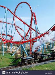 khan port aventura khan roller coaster area universal port aventura