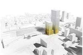 bureau change lyon part dieu dominique perrault architecture cluster d hôtels et bureaux à