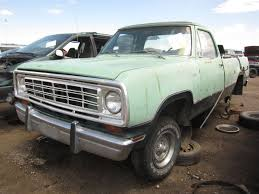 1973 Dodge D-100 Adventurer Pickup - The Truth About Cars Dodge Dw Truck Classics For Sale On Autotrader 1974 Ram 74do8465c Desert Valley Auto Parts Curbside Classic 1975 Power Wagon A Sortof Civilized Automotive History The Case Of Very Rare 1978 Diesel 7 Best Movie Pickup Trucks Macho Sale Bat Auctions Sold D100 57 Hemi V8 Five Speed Custom Pickup Youtube Bangshiftcom Big Horn Semi Classiccarscom Cc1074735 1985 Duall Rear Axle Steel Cowboys Pinterest W200 Crew Progject Resource Forums
