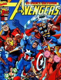 Avengers 1998 Comic