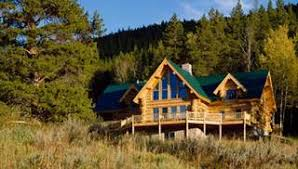The Mountain View House Plans by Log Home Plans Log House Designs The House Designers