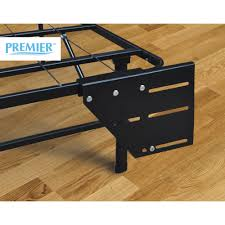 Walmart Queen Headboard And Footboard by Premier Universal Headboard Footboard Brackets Black Walmart Com