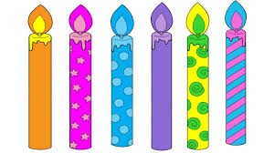 Birthday Candles Coloring Pages Birthday Candles Colouring Pages Video Fun Art For Kids