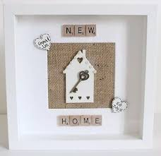 Personalised First New Home Frame Housewarming Gift Wedding Family Keepsake