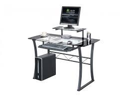 vente unique bureau bureau informatique magellan mdf verre trempé 8mm