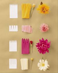 A How To Make Paper Flowers