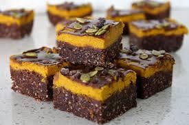 Pumpkin Mousse Brownie Trifle by Raw Vegan Pumpkin Spice Brownies And The Best Vegan Nachos
