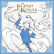 Amazon The Legend Of Korra Coloring Book 9781506702469 Nickelodeon Books