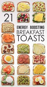 Ideas For Halloween Breakfast Foods by 21 Ideas For Energy Boosting Breakfast Toasts