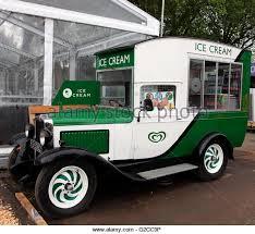 Vintage Ice Cream Van RHS Chelsea Flower Show 2016