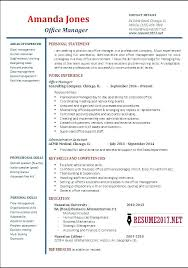 Resume Of It Manager General Sample New Charming Format For Director Also Restaurant Skills