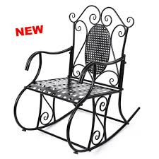 Antique Rocking Chair Metal Retro Outdoor Garden Porch Deck Patio Seat  Relax NEW 8945137315844 | EBay Retro Metal Outdoor Rocking Chair Collectors Weekly Patio Pub Table Set Bar Height And Chairs Vintage Deck Coral Coast Paradise Cove Glider Loveseat Repaint Old Diy Paint Outdoor Metal Motel Chairs Antique And 892 For Sale At 1stdibs The 24 Luxury Fernando Rees Small Wrought Iron Etsy Image 20 Best Amazoncom Lawn Tulip 50s Style Polywood Rocking Mainstays Red Seats 2 Home Decor Ideas