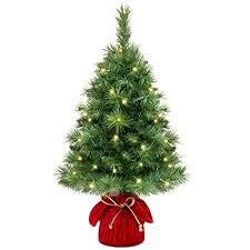 Best Choice Products 26in Pre Lit Tabletop Fir Artifical Christmas Tree Decor W 35