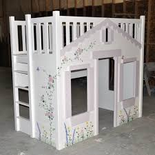 playhouse bed mindy bunk bed hand painted w optional built in
