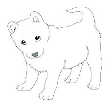 Siberian Husky Puppy Coloring Pages Puppies