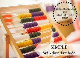 This List Of Preschool Activities Is Featured In A Complete Guide For Stay At Home Moms Kids It Includes BIG Collection