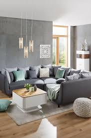 sofaelement in grau wohnzimmer ideen modern graues sofa