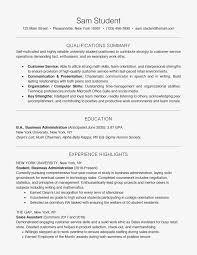 Resume Skills For High School Students