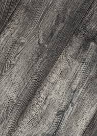 Dark Black Commercial Engineered Oak Wood Floor