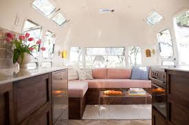100 Airstream Interior Pictures Tour A Tiny Blush Pink Designed By The Modern