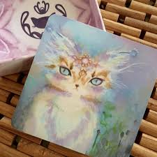 cats on deck spirit cats oracle deck lotus