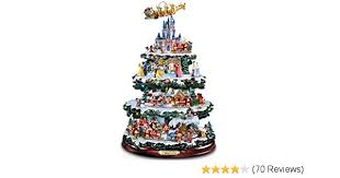 Amazon Bradford Exchange The Disney Tabletop Christmas Tree Wonderful World Of Home Kitchen