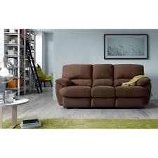 canapé limoges limoges canapé droit de relaxation 3 places 213x100x100 cm tissu