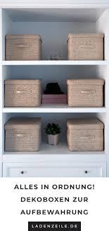 aufbewahrungsboxen sind praktisch und dekorativ mit ihnen