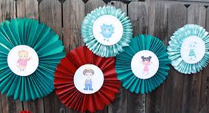 Pinwheel Decorations DIY Daniel Tiger Birthday Party PBS Parents