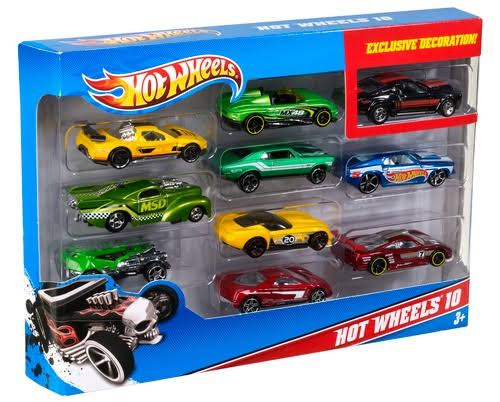 Hot Wheels Essentials - 10-Car Pack