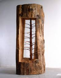 Christmas Tree Saplings Ireland by Artist Giuseppe Penone Has Carved Away Decades Of Growth To Reveal